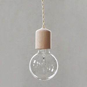 Socket Lamp Hinoki|檜