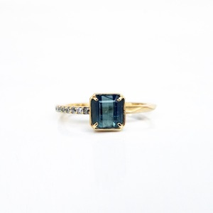 Indigo Light Tourmaline Ring(R348-ITR)