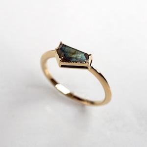 Labradorite Ring (Pentagon)