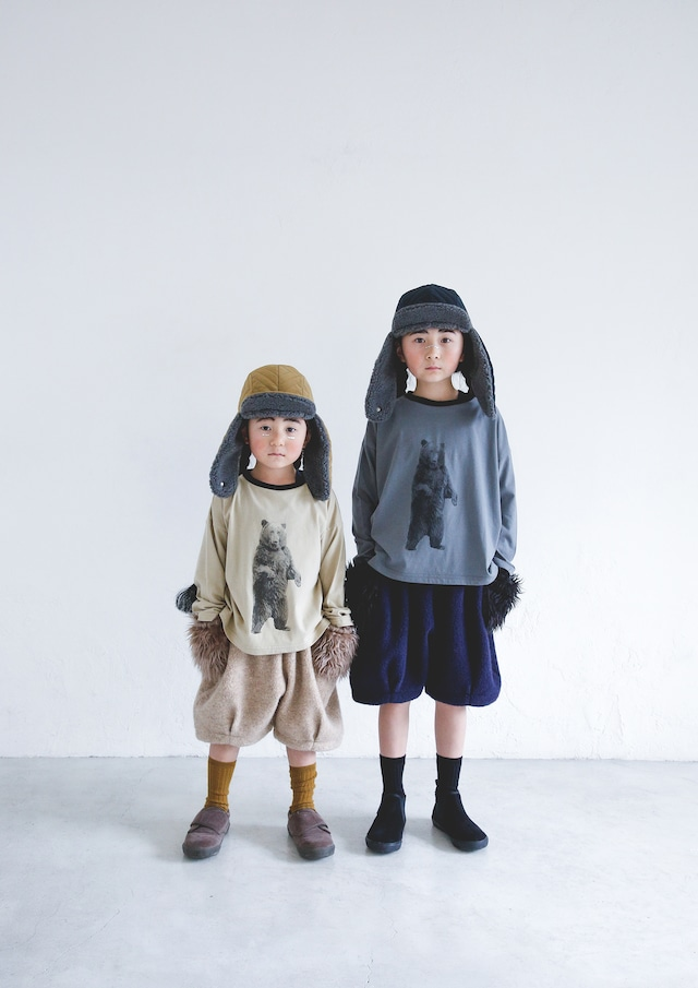 【21AW】ミチリコ(michirico) Quilting flying cap khaki【M52~54cm】帽子