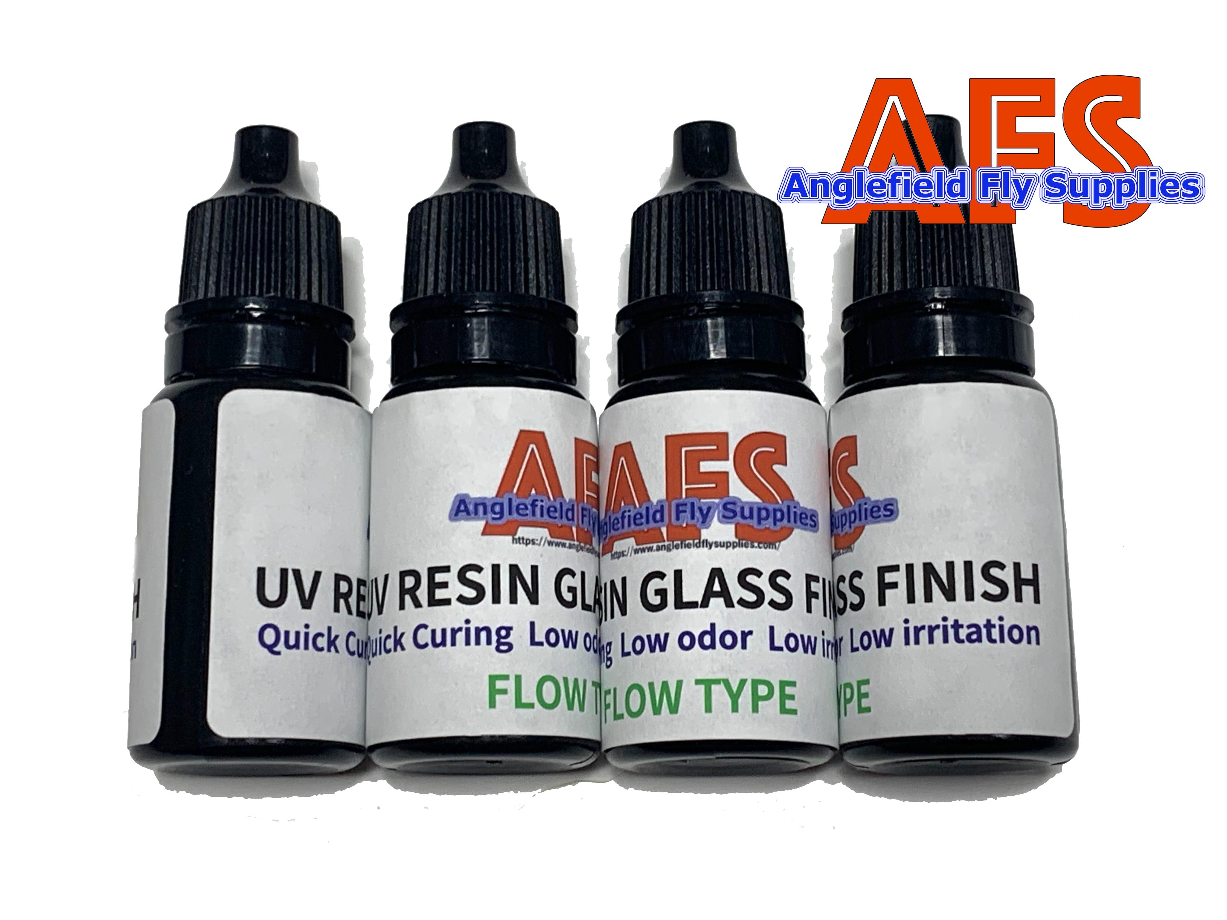 "【 AFS 】 UV RESIN "" GLASS FINISH """