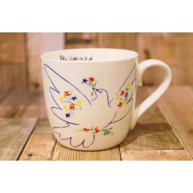 ピカソColombe Du Festival 鳩祭から  【artマグカップ】   浜松雑貨屋C0pernicus(電子レンジ、食器洗浄機にも対応)