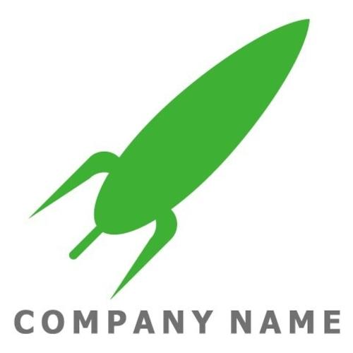 ロケットイメージ ロゴデザイン