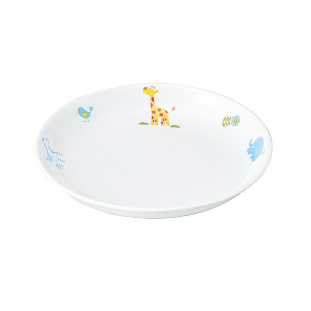 強化磁器 17cm 皿 さふぁり【1148-1250】