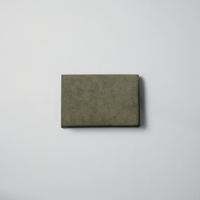 ori cardholder - 名刺入れ - gri - プエブロ