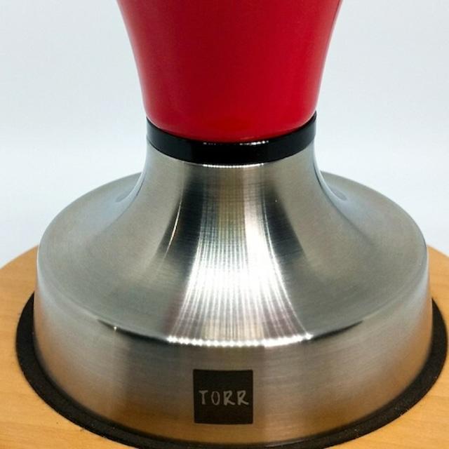 TORRタンパー●チタン GF-TFSE 58.55mm フラット シャープエッジ Espressoタンパー