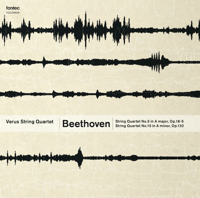 ウェールズ弦楽四重奏団/ベートーヴェン 弦楽四重奏曲第5番&第15番