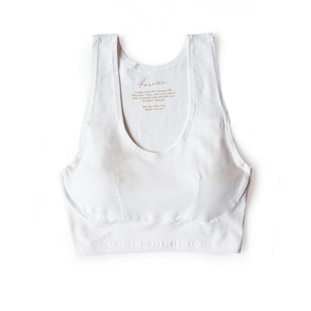 tank croptop (white)