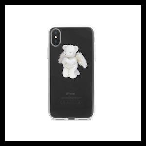 【お取り寄せ】ガーリー エンジェルくま iPhoneケース