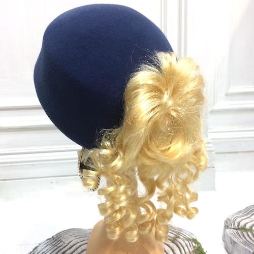 あちゃちゅむ 巻き毛ベレー帽