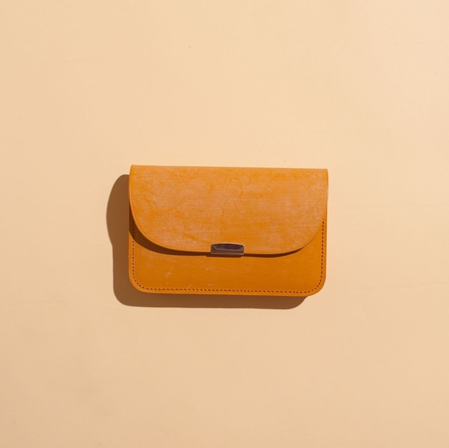 DIGAWEL / GARSON PURSE Bridle leather(CAMEL)