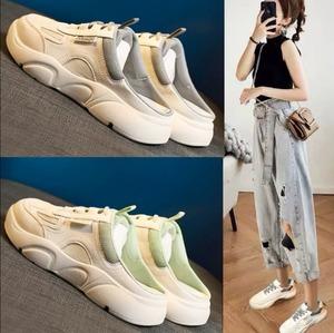 【シューズ】instagram超人気配色ファッション切り替えスニーカー42918138