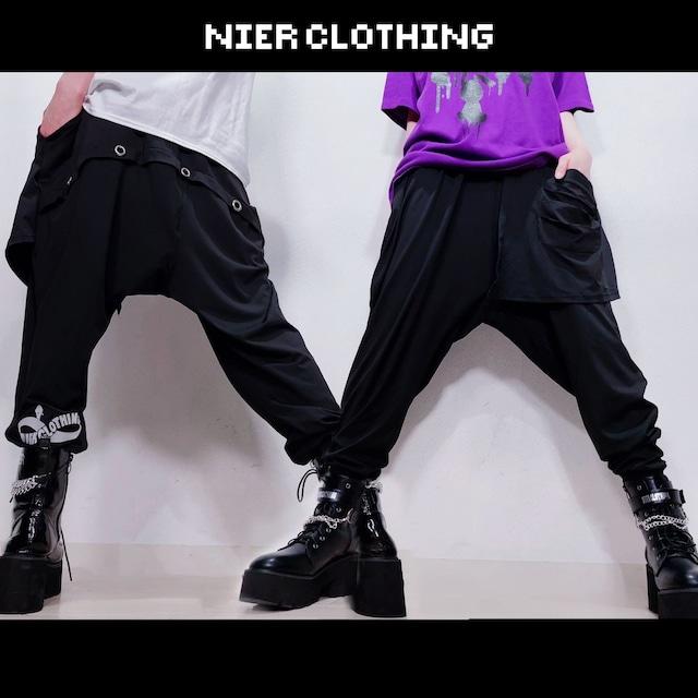 変型SARROUEL PANTS【フラップ付き】