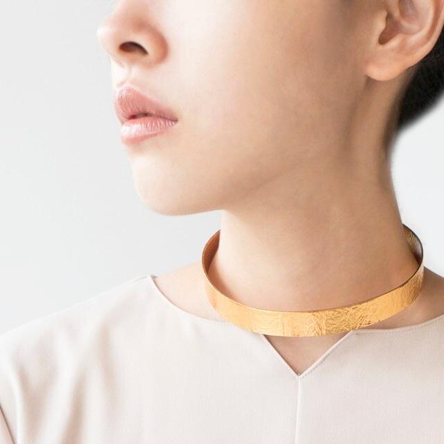 《ネックレス》TIN BREATH 15×450 Gold