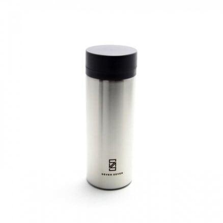 SEVEN SEVEN (セブンセブン) tsutsu tumbler (ツツ タンブラー) ステンレス真空ボトル・タンブラー (ステンレスシルバー) 【200ml】