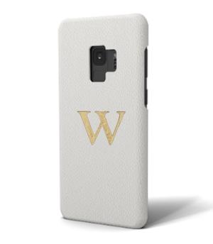 Galaxy Premium Smooth Leather Case (Cotton White)