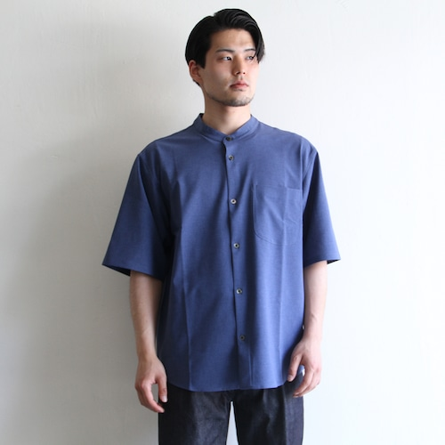 LAMOND【 mens 】band collar shari shrts