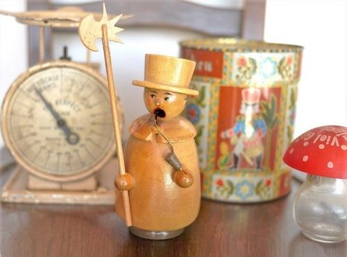 聖歌隊 スモーカー人形 パイプ人形 煙出し人形