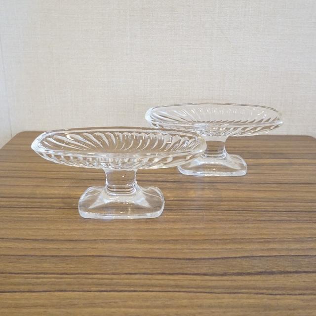 エデン ボート型のデザートグラス2個セット
