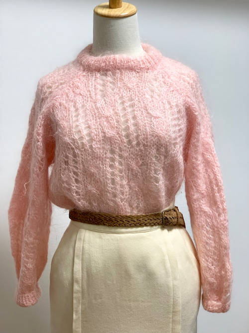 Vintage Mohair Sweater Pink