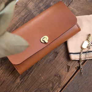 Clasp-O  long wallet -ento-