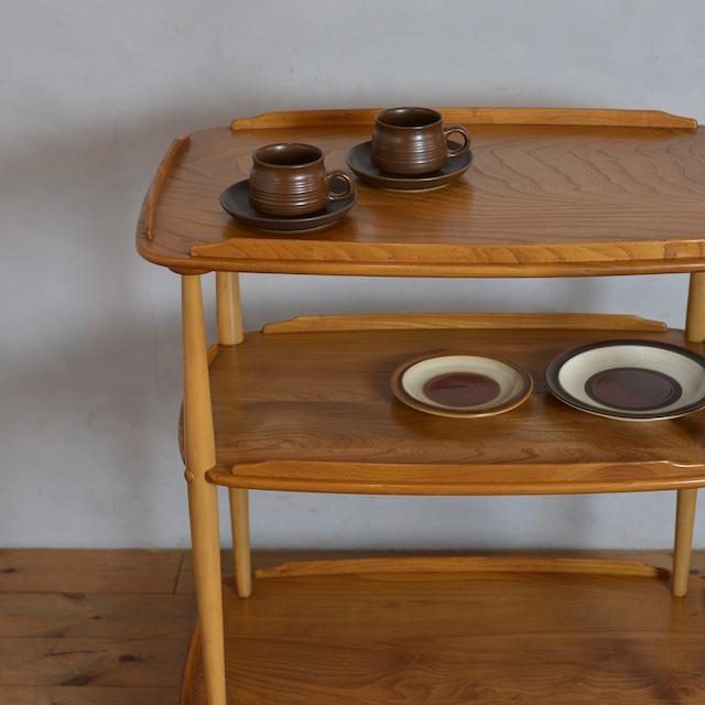 Ercol Trolley Wagon  / アーコール トロリー ワゴン 〈カフェ・テーブル・ティーテーブル・店舗什器〉1806-0010