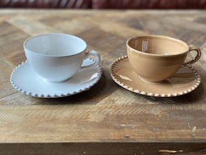 dot pearl cup&sauser