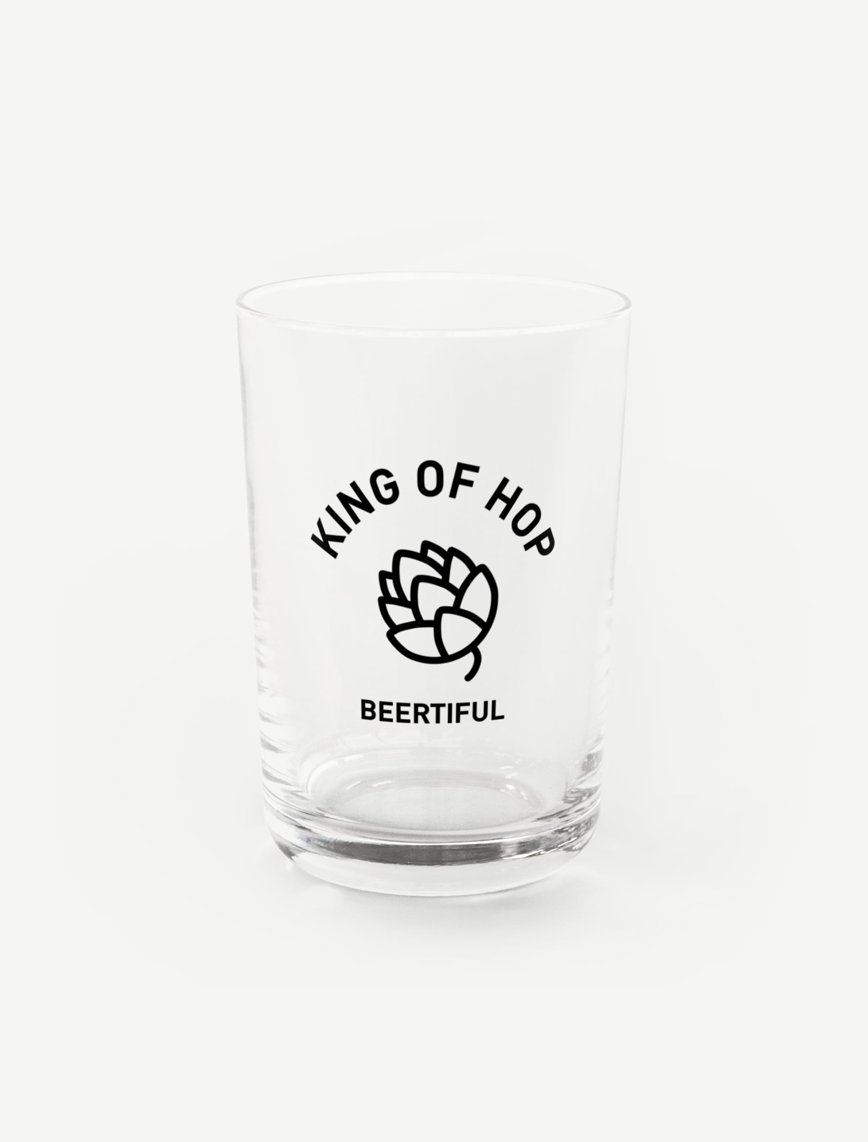 【KING OF HOP】グラス
