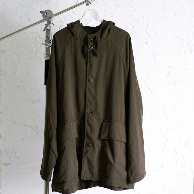 CASEY CASEY - STRAND PARKA - ROUGH - 17HM125 - KAKI Parka Coat