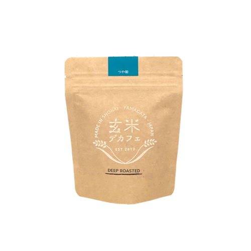玄米デカフェ・つや姫・深煎り 100g 粉タイプ