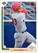 MLBカード 91UPPERDECK Dave Staton #066 PADRES