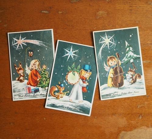 イタリアのクリスマスカード C