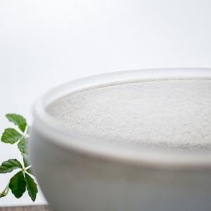 白のうつわ ボウル 大(ガラスの器・鉢・サラダボウル)/小宮 崇