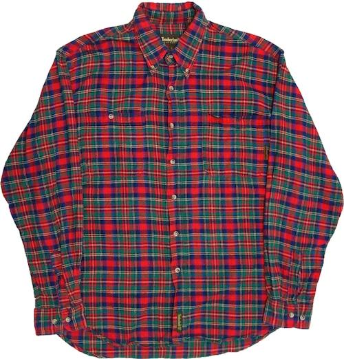 90年代 ティンバーランド ネルシャツ 【L】 | Timberland ヴィンテージ 古着