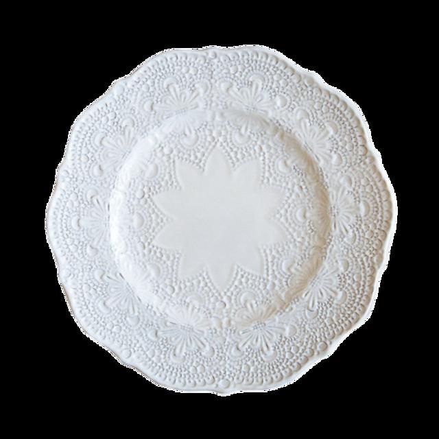 lace dish 20cm / ケミカルレースディッシュ 20cm