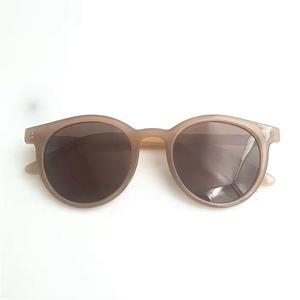brown frame sunglasses