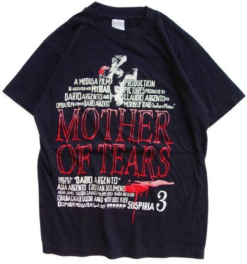 00年代 サスペリア3 映画 Tシャツ | テルザ 最後の魔女 アルジェント ホラー ヴィンテージ 古着