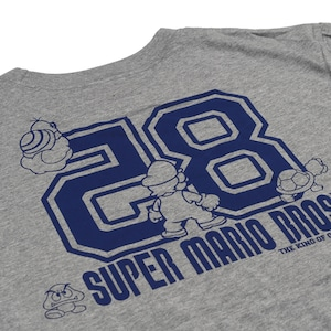 SUPER MARIO BROS. / マリオナンバリング(グレー) / KING OF GAMES