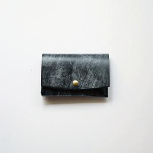 mini wallet - ブライドル -  bridle leather - bk