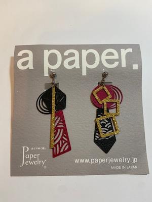 【Paper Jewely】ミヤビ/イヤリング