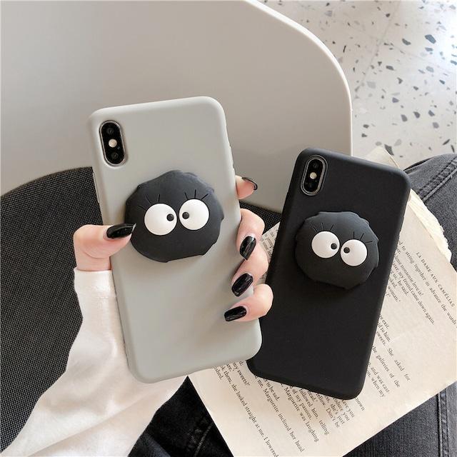 Black ghost iphone case