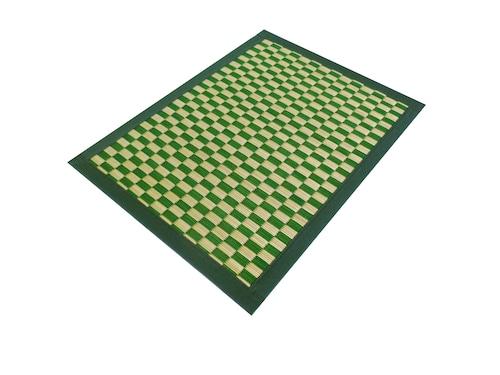 【ランチョンマット Place Mat】市松 白緑