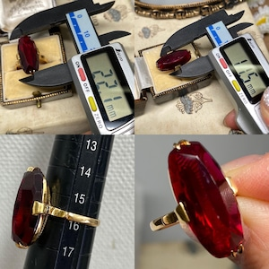 【Japanese traditional ring】昭和レトロリング 百貨店 松屋刻印あり