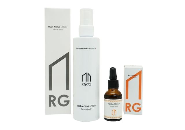【お得なセット】RG92マルチアクティブローション+RG92マルチアクティブオイル【送料無料】