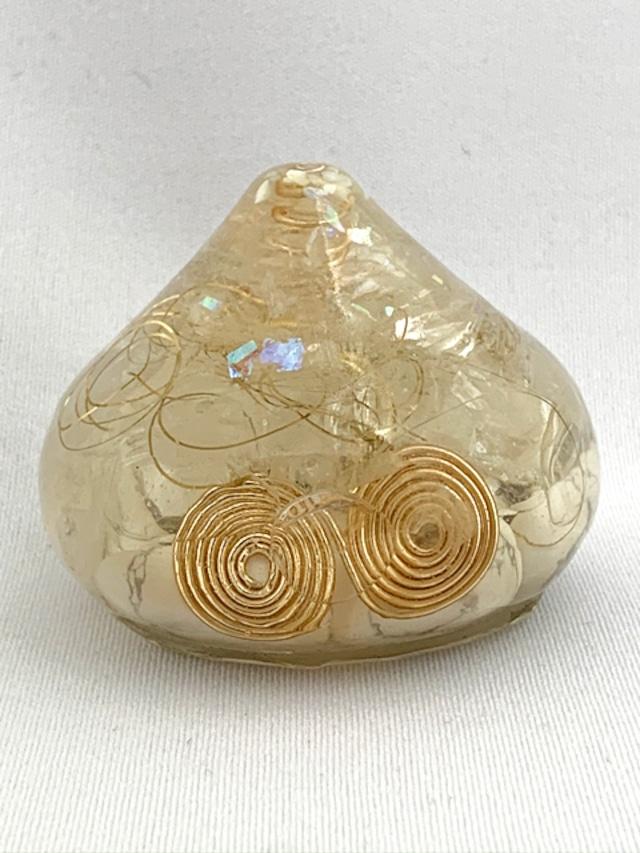 宝珠~ホワイトターコイズ~(シンプルなオルゴナイトです)