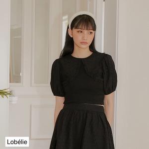 Special Select NH -レースバルーンスリーブ付ショート丈TOPS  LNH21181