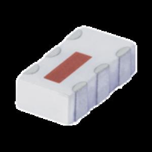 QCN-25+, Mini-Circuits(ミニサーキット)    LTCC Power Splitter (スプリッタ・コンバイナ), 1350 - 2450 MHz, 分配数: 2 Way-90°