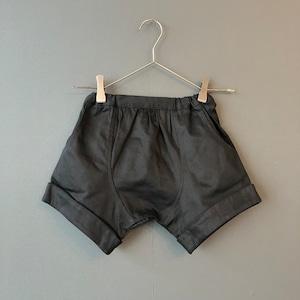 arkakama BASIC Twill Sarouel Shorts( BLACK ) M/L AKL00021※一枚までメール便可
