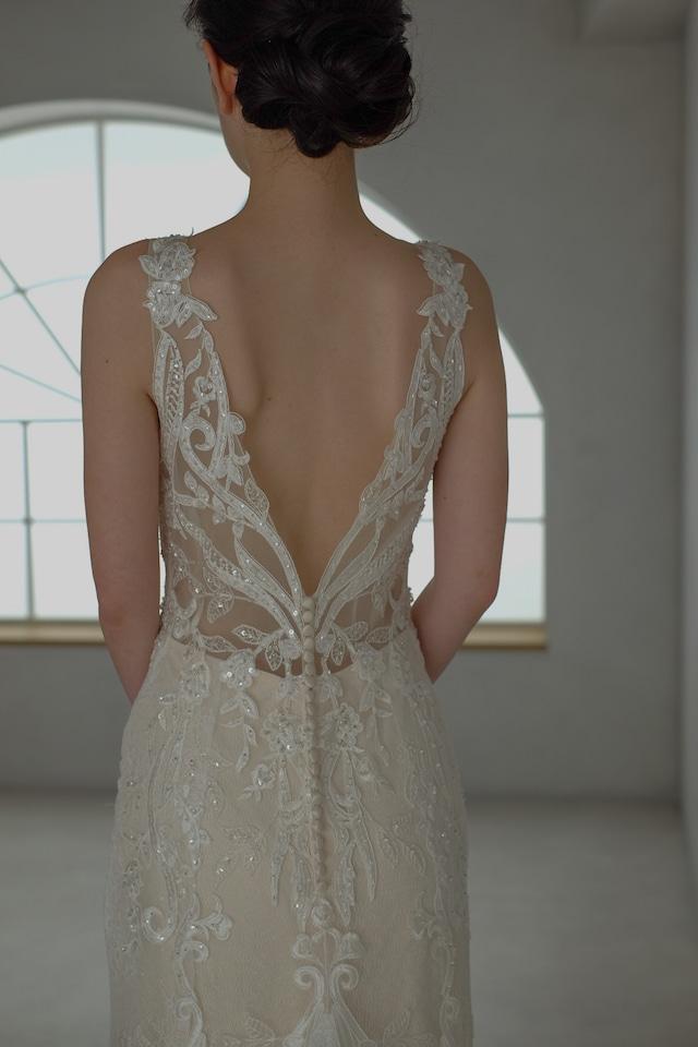 Wedding Dress /rental/Slender /DR6003