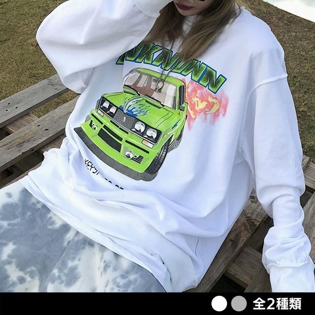 UNKNOWNインサイドアウトシャツ(全2色) / HWG353